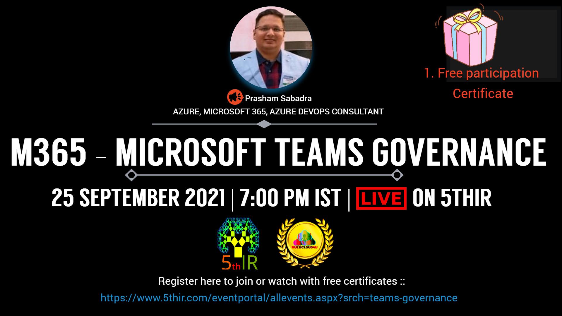 M365 - Microsoft Teams Governance