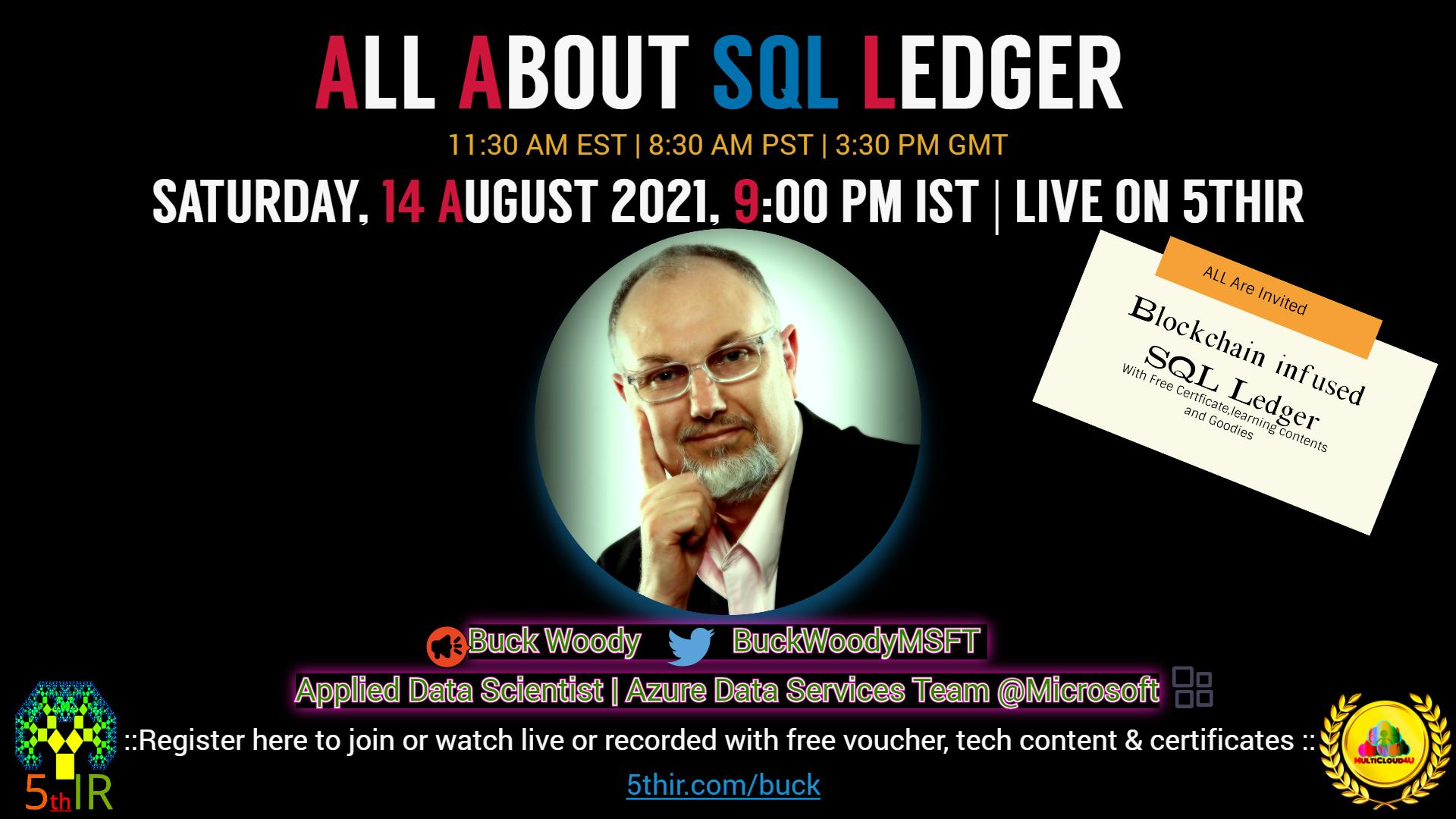 All About Blockchain Based highly secure SQL Ledger in SQL Server