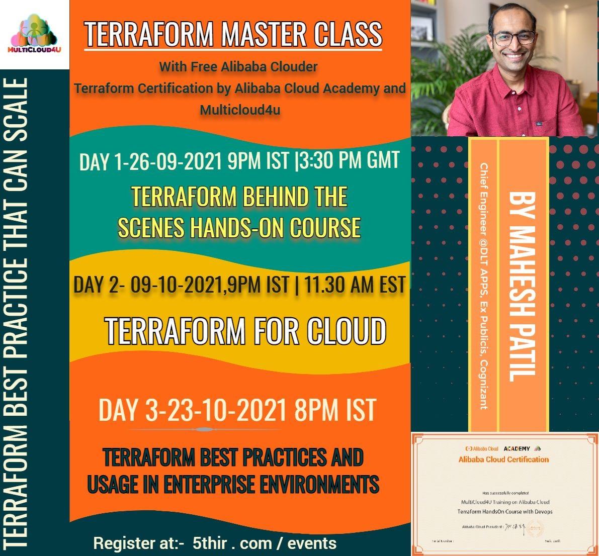 Terraform Master Class